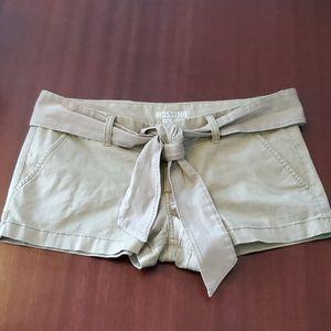 Nwot Massimo belted shorts